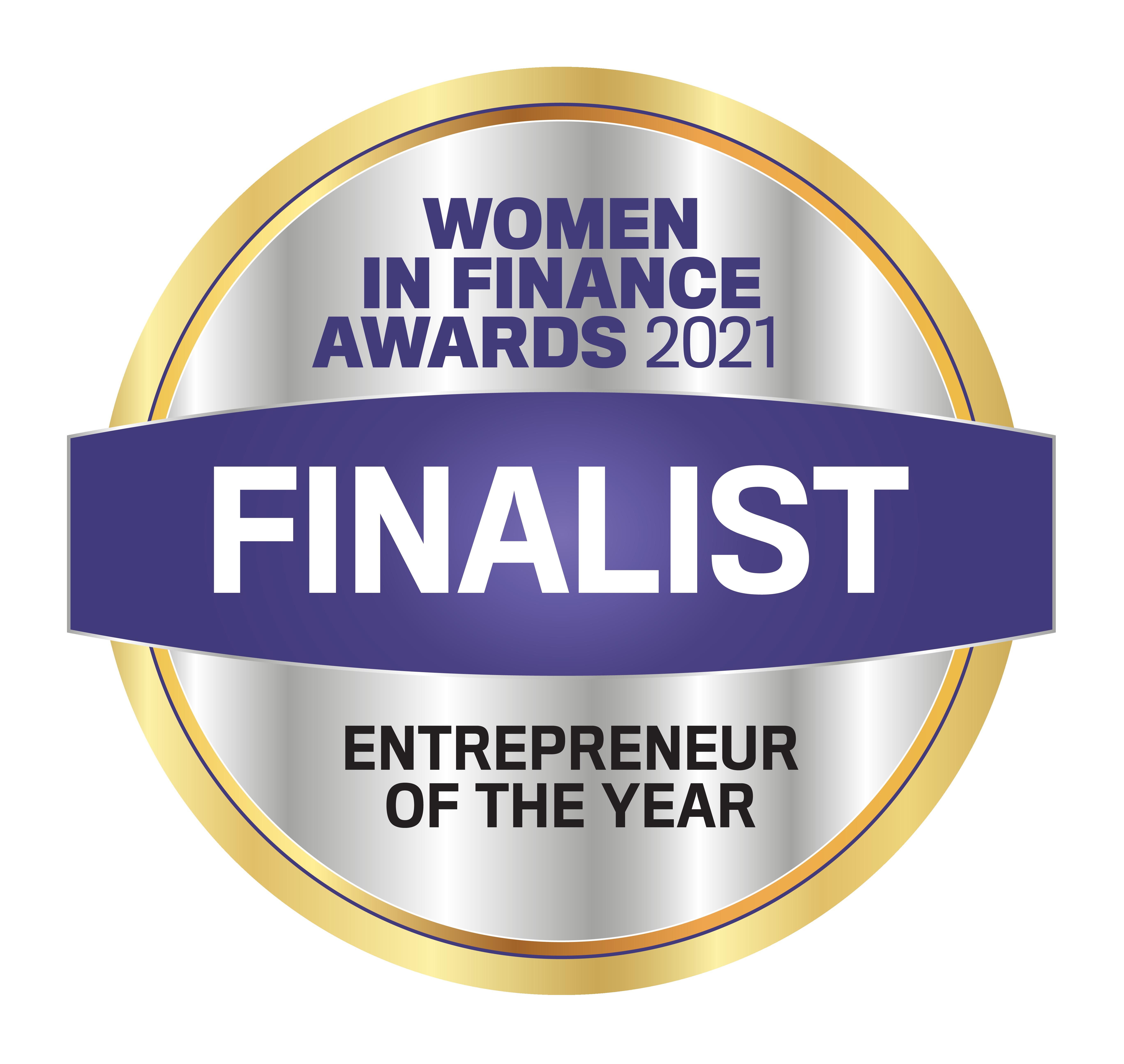 Women in Finance Award 2021 - entrepreneur of the Year WFS